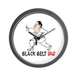 Black Belt Dad Wall Clock