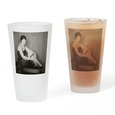 Flapper Fashion, 1922 Drinking Glass