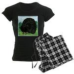 Fantail Black Pigeon Pajamas