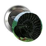 "Fantail Black Pigeon 2.25"" Button"