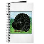 Fantail Black Pigeon Journal