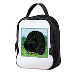 Fantail Black Pigeon Neoprene Lunch Bag