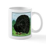 Fantail Black Pigeon Mugs