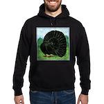 Fantail Black Pigeon Hoodie (dark)