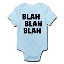 Blah Blah Blah Infant Bodysuit