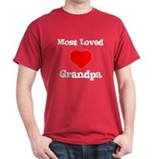 Most Loved Grandpa T-Shirt