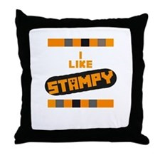 I Like Stampy Throw Pillow