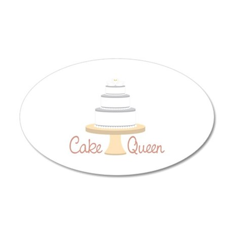 Cake Queen Wall Decal