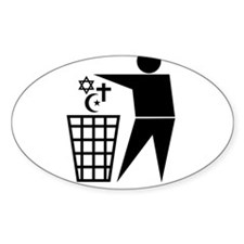 Trash Religion 3 (inverted png) Decal