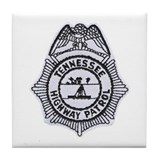 Tennessee Highway Patrol Tile Coaster