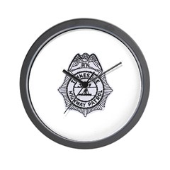 Tennessee Highway Patrol Wall Clock