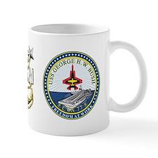 CVN-77 USS George H.W. Bush Mug