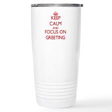 Funny Curtsy Travel Mug