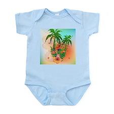 Tropical summer design Body Suit