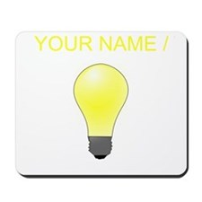 Custom Lightbulb Mousepad