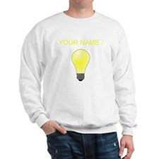 Custom Lightbulb Sweatshirt