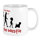 Evolution of the WESTIE - Coffee Small Mug