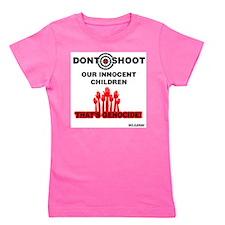Don't Shoot Children Girl's Tee