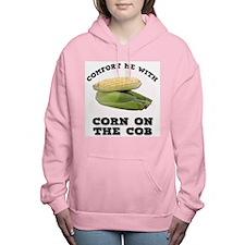 FIN-comfort-corn-cob.png Women's Hooded Sweatshirt