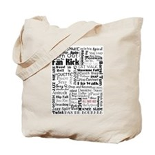 Jazz Collage Tote Bag