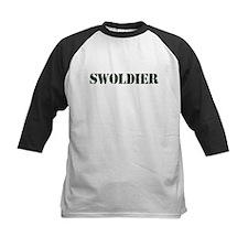 Swoldier Swole US Soldier Baseball Jersey