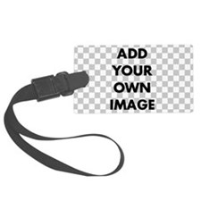 Custom Add Image Luggage Tag