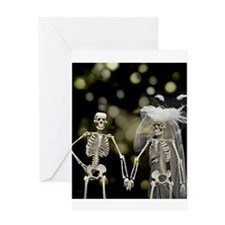 Until death us do part Greeting Cards