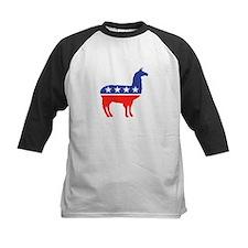 Political Party Llama Mascot Baseball Jersey