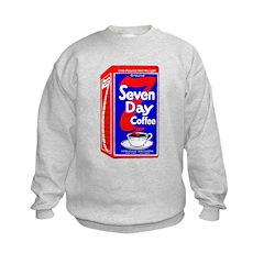 7 Day Coffee Kids Sweatshirt
