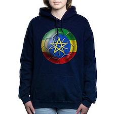 Ethiopia Football Women's Hooded Sweatshirt
