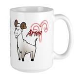 Cartoon Aries Coffee Mug