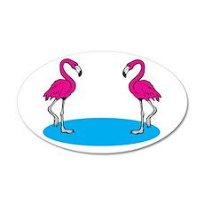 Pink Flamingos Wall Decal