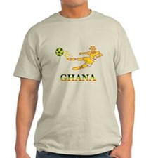 Ghana Soccer Player T-Shirt