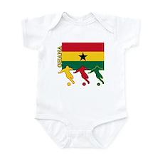 Ghana Soccer Infant Bodysuit