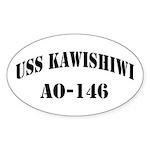 USS KAWISHIWI Sticker (Oval)
