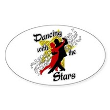 Dancing With The Stars Sticker (Oval)