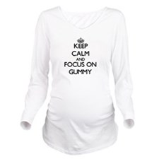 Unique Songs Long Sleeve Maternity T-Shirt