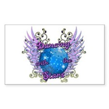 Dancing With The Stars Sticker (Rectangle)