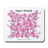 Heart Attack Mousepad