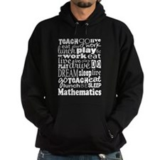 Mathematics Teacher quote Hoodie