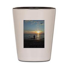Funny South beach Shot Glass