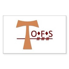 OFS Secular Franciscan Order Decal