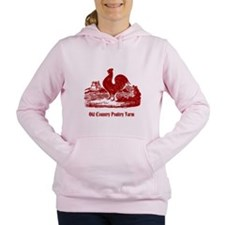 Red Rooster Country Farm Customizable Women's Hood