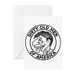 Dirty Old Men of America Greeting Cards (Package o