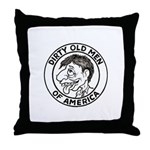 Dirty Old Men of America Throw Pillow
