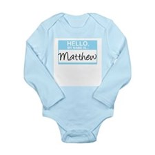 HelloMyNameIs...Matthew Body Suit