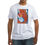 Japanese Koi Fitted T-Shirt