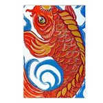Japanese Koi Postcards (Package of 8)