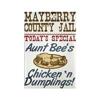 Mayberry County Jail Aunt Bee Magnet