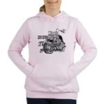 Two wheels move the soul Women's Hooded Sweatshirt